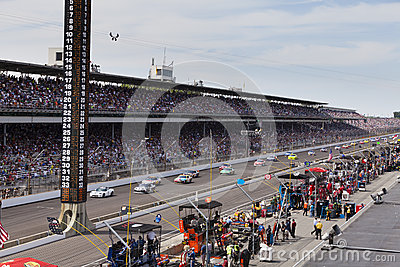 Brickyard 400, 2012 Editorial Photo