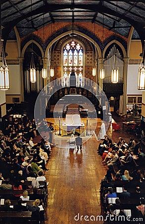 Bridal ceremony at a Church