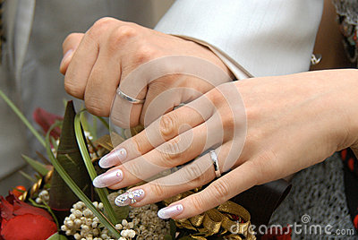 Bridal Image Stock Photo