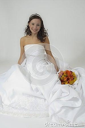 Free Bridal Portrait Sitting Stock Image - 386081