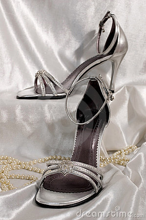 Free Bridal Sandals Stock Image - 2033821