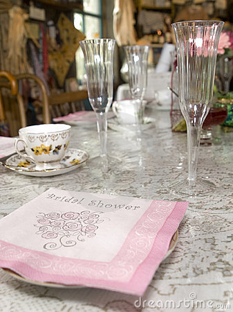 Free Bridal Shower Stock Photos - 12353443