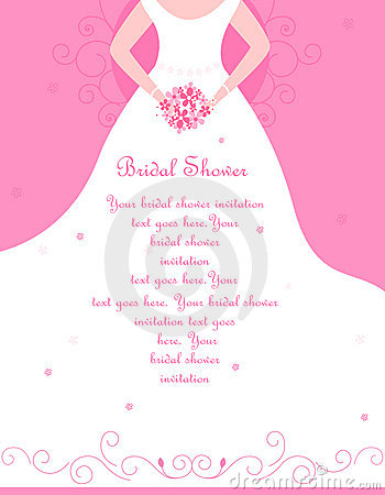 Free Bridal Shower Invitation Stock Photo - 10634400