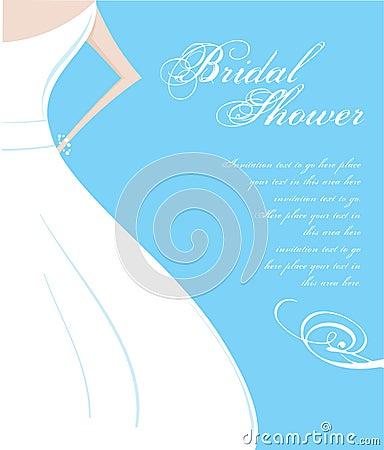 Free Bridal Shower Invitation Stock Photos - 9803373