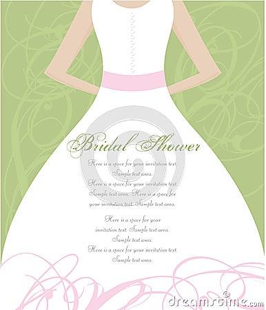 Free Bridal Shower Invitation Stock Photos - 9803383