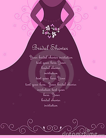 Bridal shower / Wedding invitation