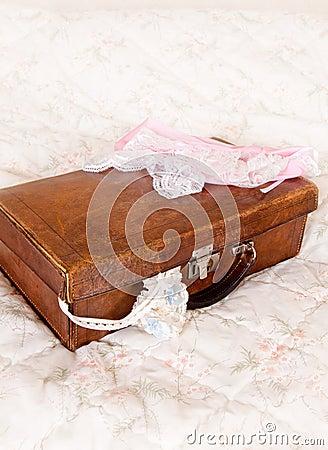 Bridal suitcase