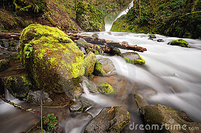 The Bridal Veil Falls Stock Photo - Image: 24124770