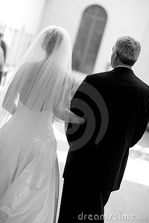 Free Bride And Father Stock Images - 1770064