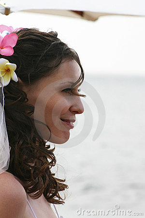 Bride on Beach Profile