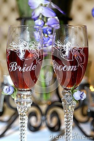 Bride besides groom