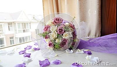 Bride bouquet of flower