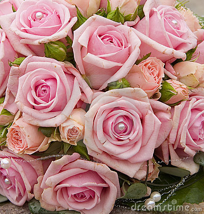 Free Bride Bouquet With Roses.JH Royalty Free Stock Image - 502806