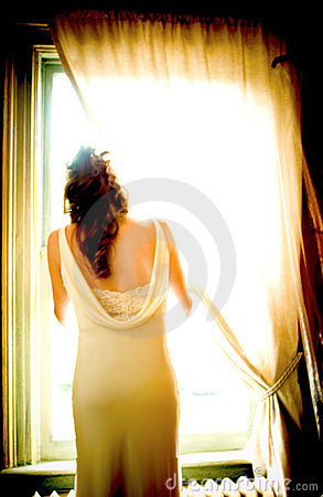 Free Bride By The Window Stock Photos - 64223