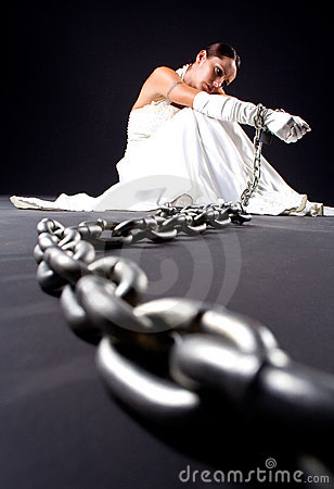 Bride and chains