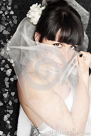Bride it covered face