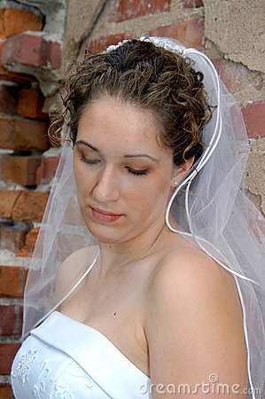 Free Bride Deep In Thought Royalty Free Stock Image - 4537856