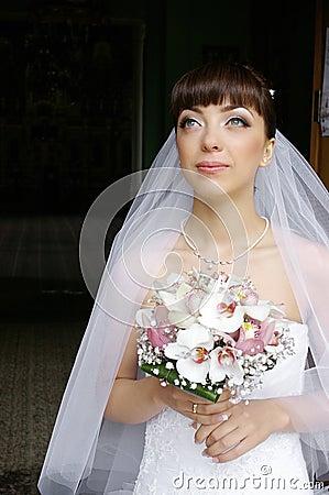 Bride dreaming