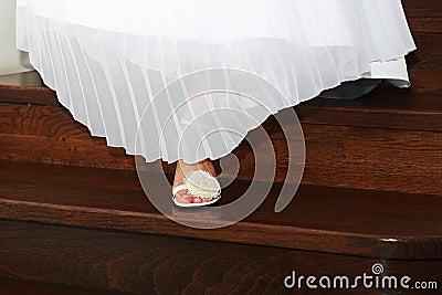Bride feet