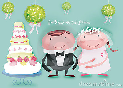 For the bride and groom