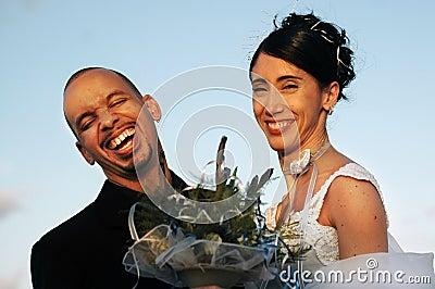 Bride and groom - wedding couple