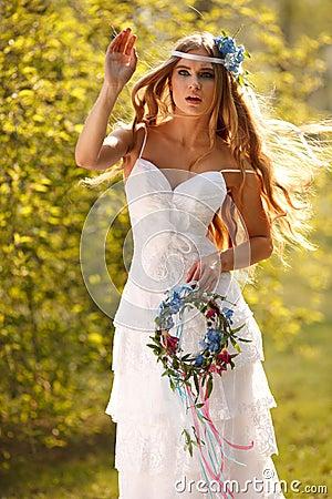 Sensual bride