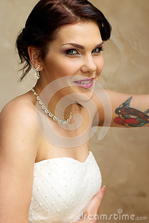 Free Bride In The Room Royalty Free Stock Image - 25253366