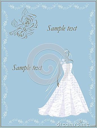 Bride invitation