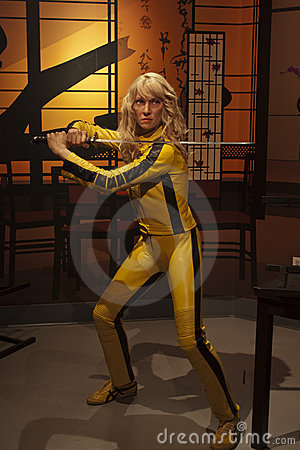 The Bride of Kill Bill Editorial Photo