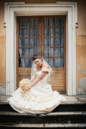 Free Bride Portrait Royalty Free Stock Images - 16723019