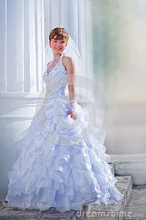 Free Bride Portrait Royalty Free Stock Photo - 37955195