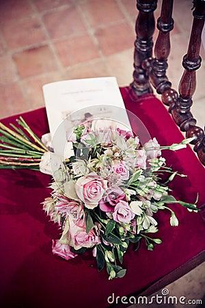 A bride s bouquet