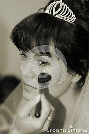Bride s make-up