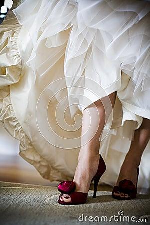 Brides Shoes Stock Photo - Image: 54058823
