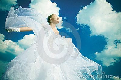 The bride in the sky