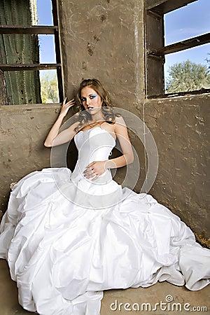 Bride in White