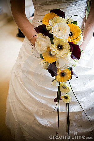Free Bride With Flowers Royalty Free Stock Photos - 6941658