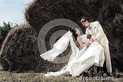 Bridegroom and bride