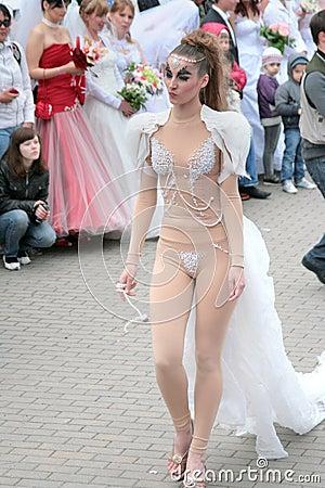 Brides parade 2010 Editorial Stock Photo