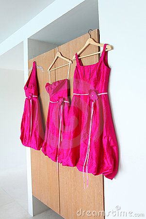 Free Bridesmaid Dresses. Stock Photography - 15086812