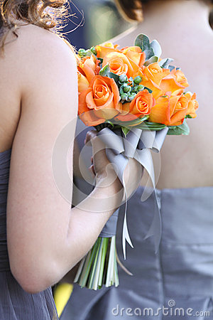 Bridesmaid Rose Bouquet