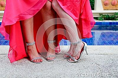Bridesmaids shoes.