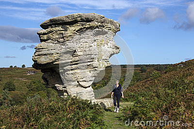 Bridestones Rocks - North Yorkshire - England