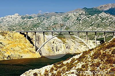 Bridge across the Adriatic.