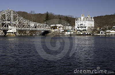 Bridge across Connecticut River