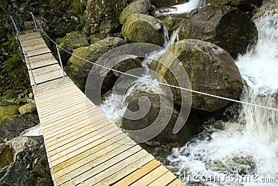 Bridge across a river