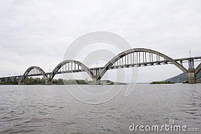Bridge across the river of Oka