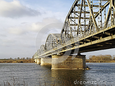 Bridge across the River Vistula
