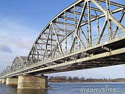 Bridge across the River Vistula