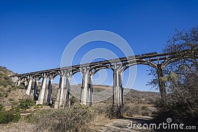 Bridge Arches Train